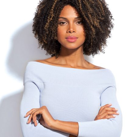 Feme Collection Contoured Curls Wig