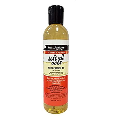 Aunt Jackies Flaxseed Soft All Over Multi-Purpose Oil