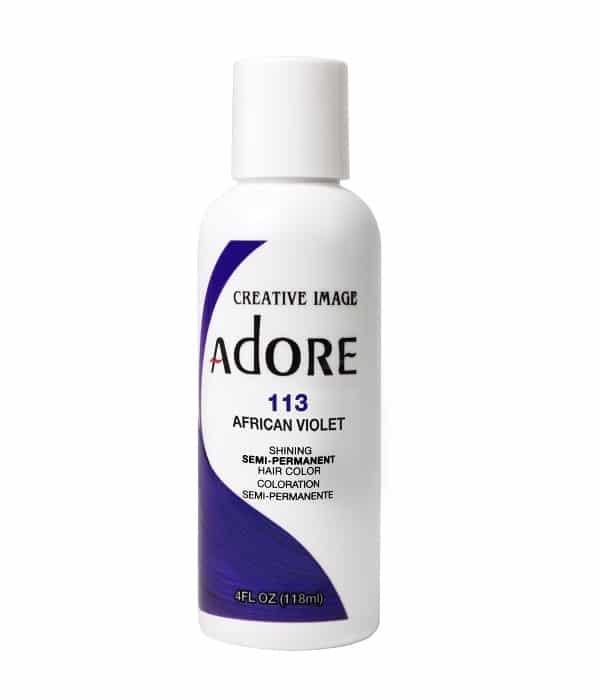 Adore African Violet 113 Semi-Permanent Hair Colour 4oz