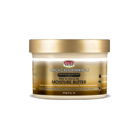 African Pride Black Castor Miracle Hair Butter