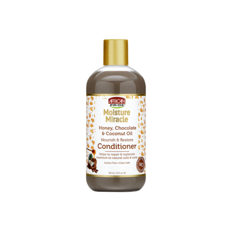 African Pride Moisture Miracle Aloe & Coconut Water Pre-Shampoo 12oz