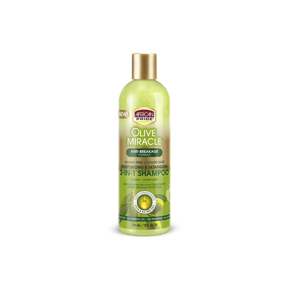 African Pride Olive Miracle 2 In 1 Shampoo