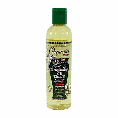 Africas Best Organics Growth & Strengthening Oil Therapy 8oz