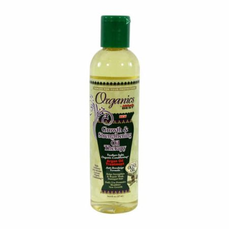 Africa's Best Organics Growth & Strengthening Oil Therapy 8oz