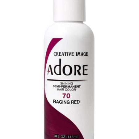 Adore Raging Red 70 Semi-Permanent Hair Colour 4oz