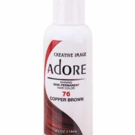 Adore Copper Brown 76 Semi-Permanent Hair Colour 4oz