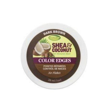 GRO HEALTHY SHEA & COCONUT Colour Edges Dark Brown