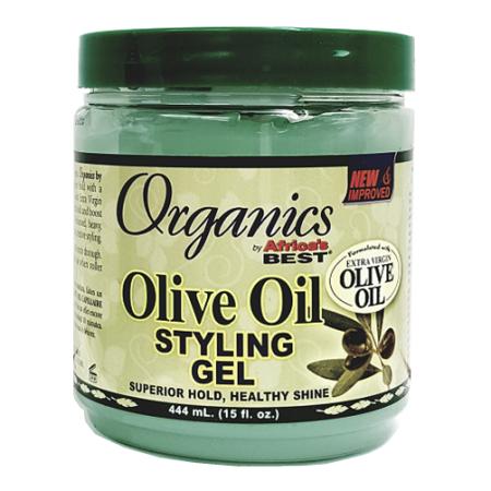Africas Best Organics Olive Oil Styling Gel 15oz