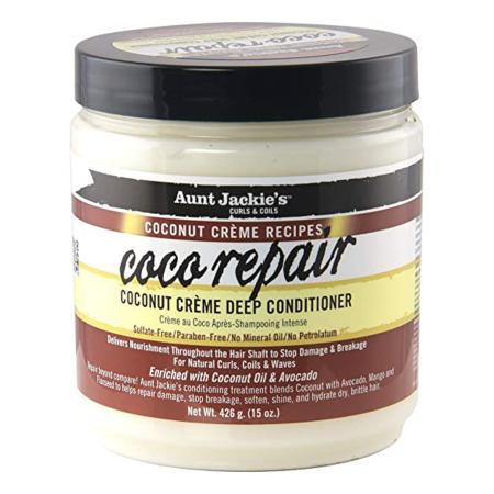 Aunt Jackies Coco Repair Deep Conditioner 15oz