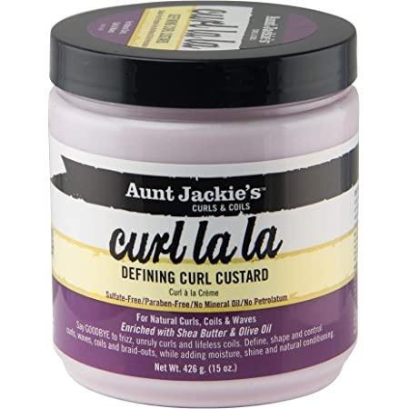 Aunt Jackies Curl La La Defining Curl Custard 15oz
