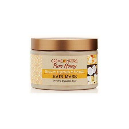 Creme Of Nature Pure Honey Moisture Replenish & Strengthening Hair Mask 11.5oz