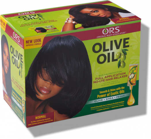 Ors Olive Oil Normal No Lye Hair Relaxer Kit Hairglo