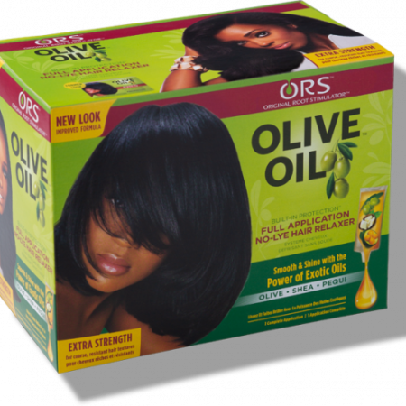 ORS Olive Oil Extra Strength No-Lye Hair Relaxer Kit