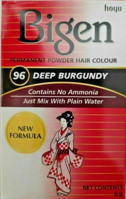 Bigen Deep Burgundy Hair Colour