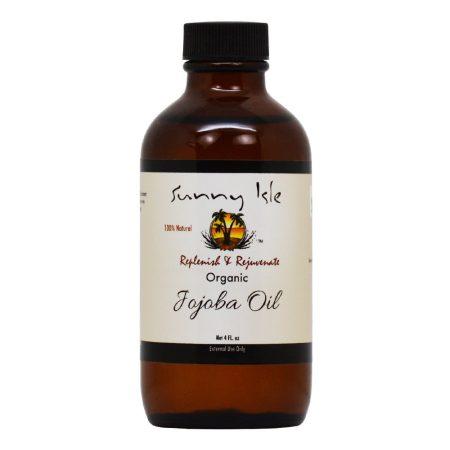 Sunny Isle Organic Jojoba Oil 4oz