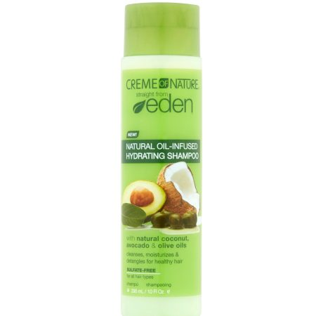 Creme of Nature Straight From Eden Plant Derived Hydrating Shampoo 10oz