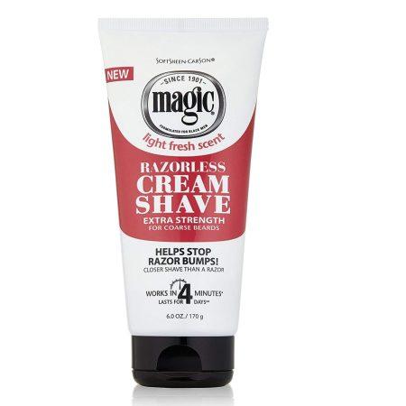 Magic Razorless Extra Strength Cream Shave 6oz