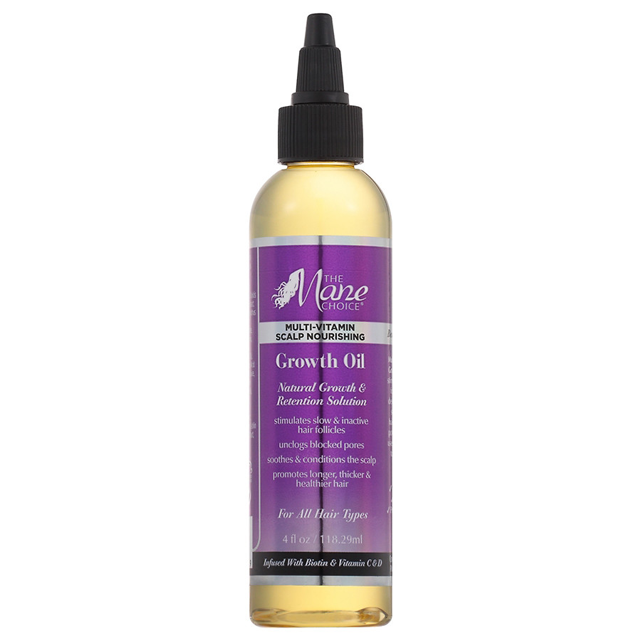 The Mane Choice Multi-Vitamin Scalp Nourishing Growth Oil 4oz