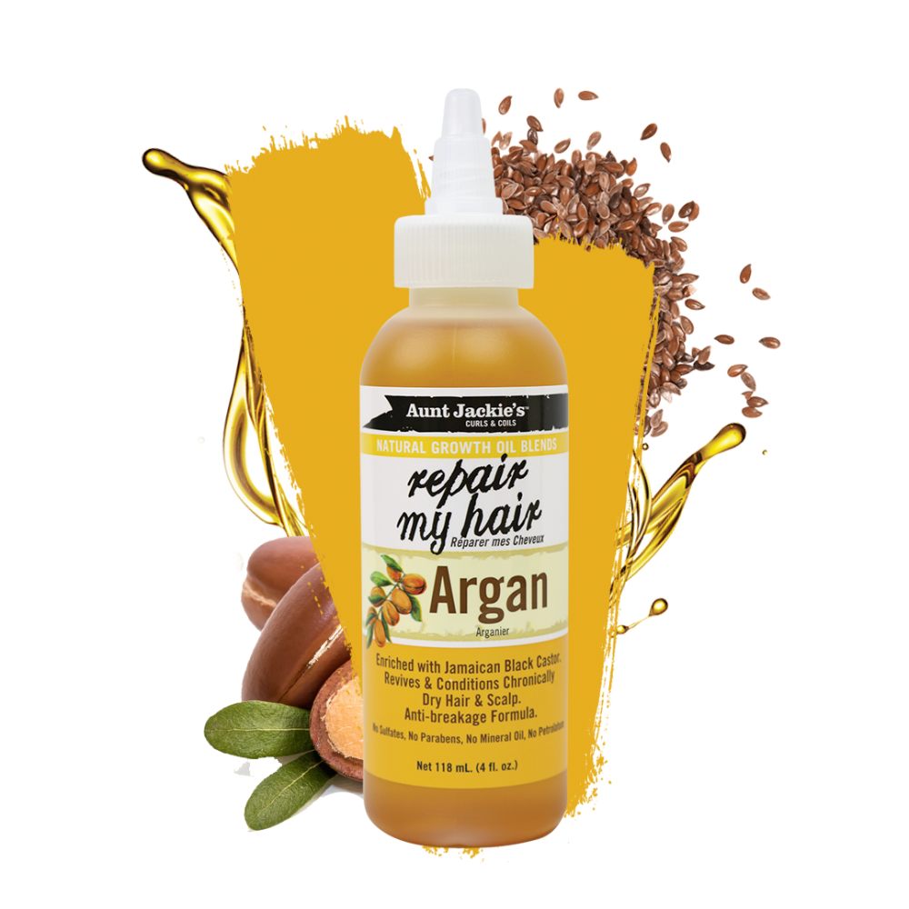 Aunt Jackies Repair My Hair Argan Oil 4oz