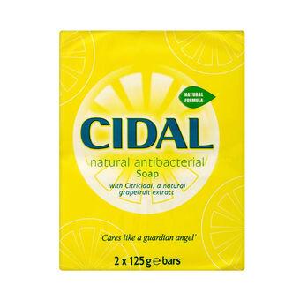 Cidal Antibacterial Soap 2x125g