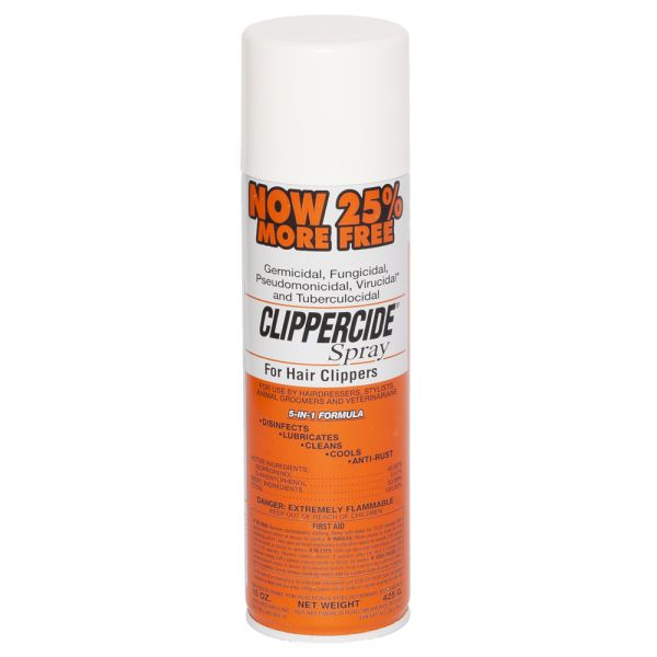 Clippercide Disinfectant Clipper Spray 15oz