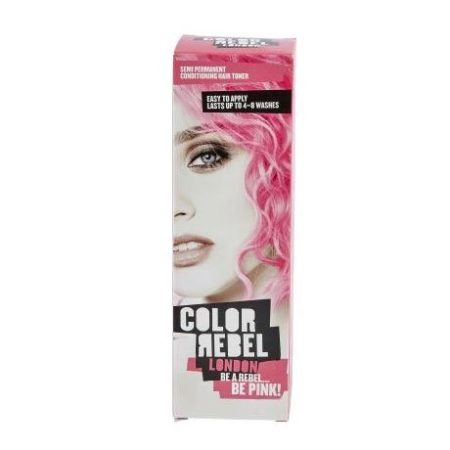 Colour Rebel Semi Permanent Hair Conditioning Hair Toner Blue Dye