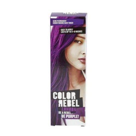 Colour Rebel Semi Permanent Hair Toner Purple Dye