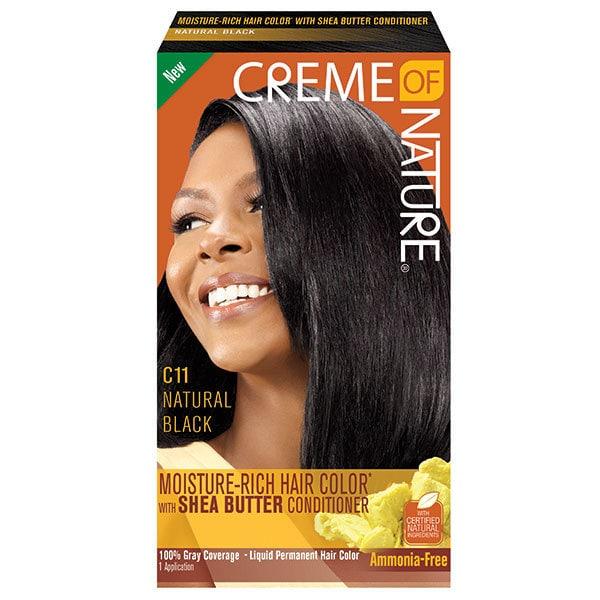 Creme of Nature Shea Butter Natural Black Dye C11