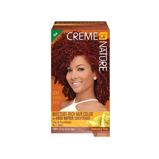Creme of Nature Shea Butter Vivid Red Dye C31