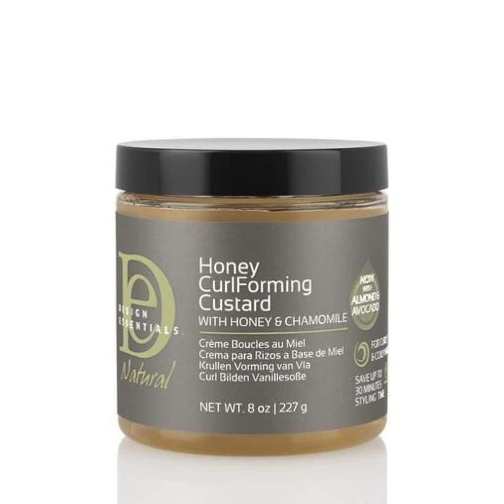 Design Essentials Natural Almond & Avocado CurlForming Custard with Honey & Chamomile