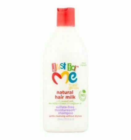 Just For Me Natural Hair Milk Moisture Soft Shampoo 13.5oz
