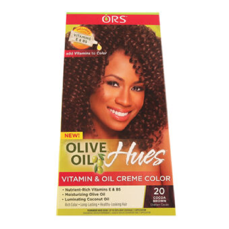 ORS Olive Oil Hues Creme Colour Cocoa Brown 20