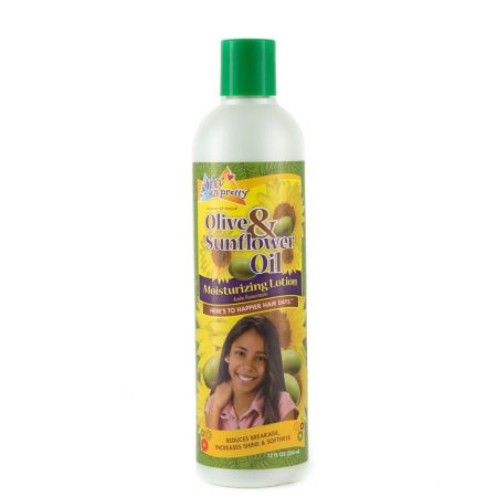 Soft n Free Olive & Sunflower Oil Kids Hair Lotion 12oz
