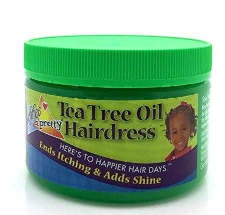 Soft n Free Olive & Sunflower Oil Kids Tea Tree Hairdress 250g