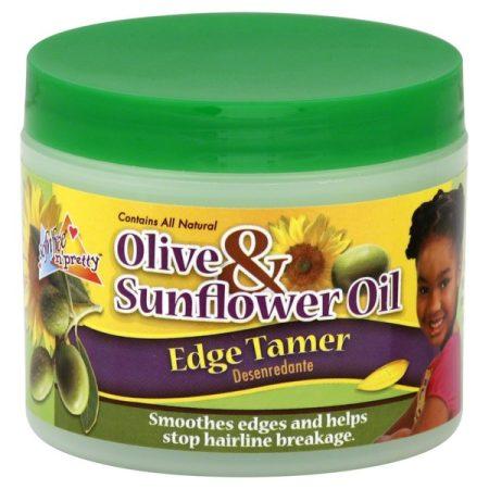 Sof n Free Pretty Olive and Sunflower Kids Edge Tamer 4oz