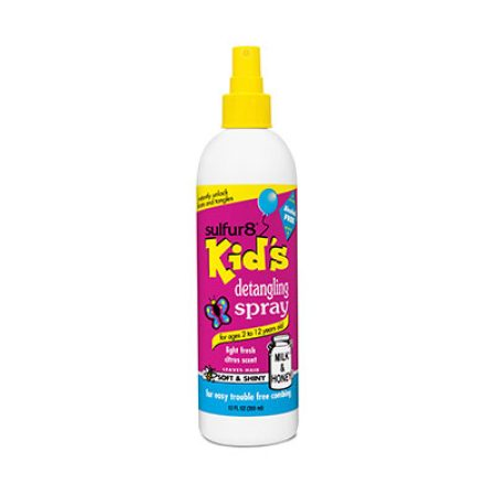Sulfur8 Kids Detangling Spray 12oz