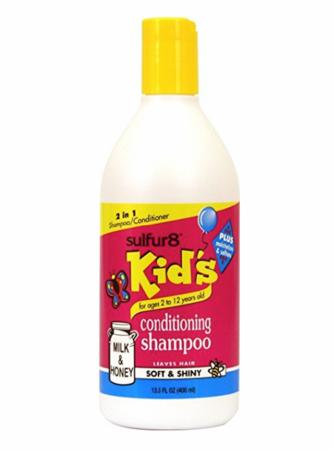 Sulfur8 Kids Milk & Honey Conditioning Shampoo 13.5oz