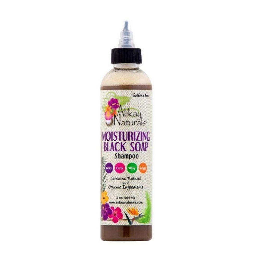 Alikay Naturals Black Soap Shampoo 8oz