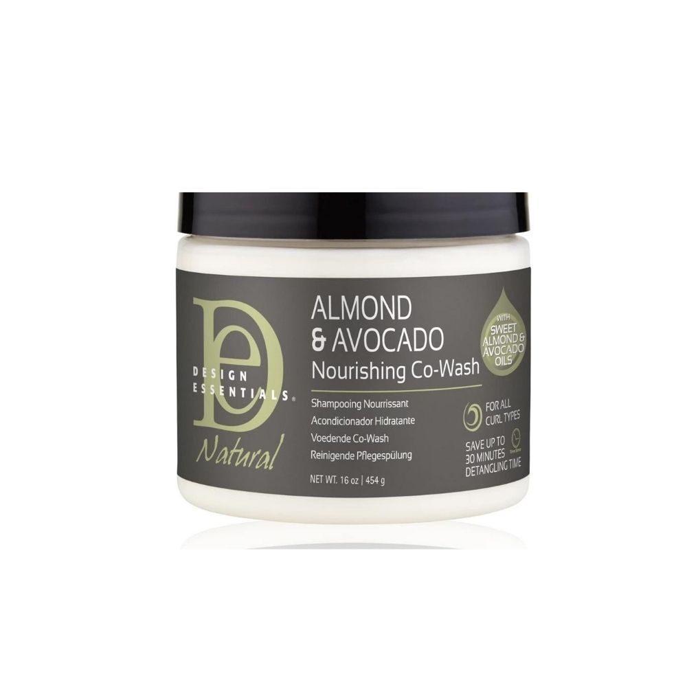 Design Essentials Almond & Avocado Nourishing Co-Wash 16oz