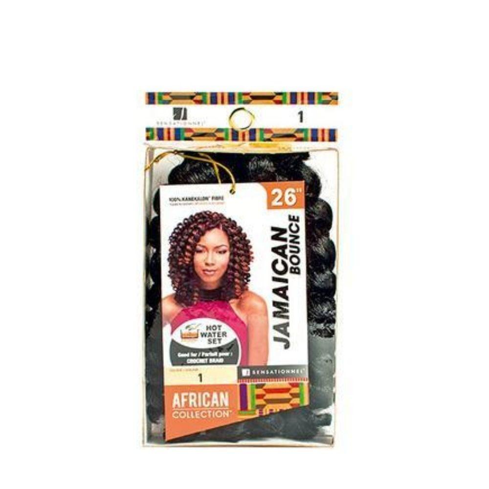 Sensationnel African Collection Jamaican Bounce Crochet Hair