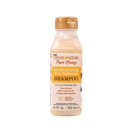 Creme of Nature Pure Honey Moisturising Dry Defence Shampoo 12oz
