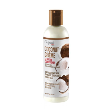Africas Best Originals Coconut Creme Leave In Conditioner