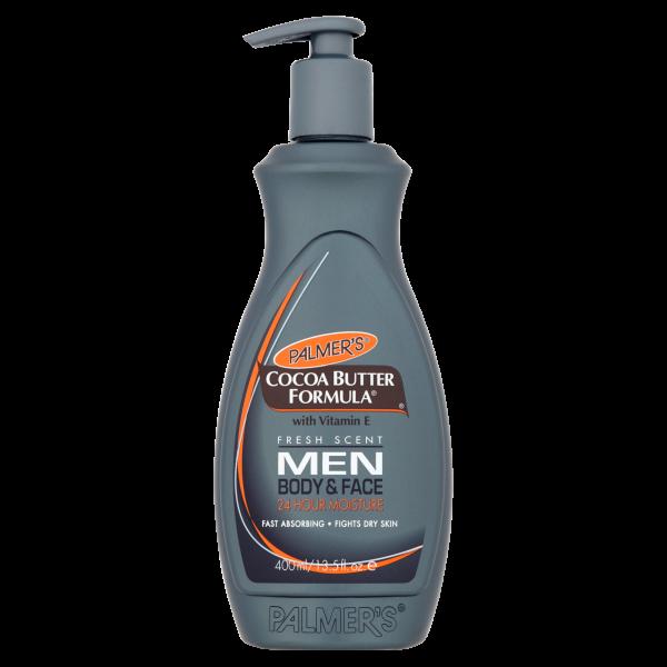 Palmers Men's Cocoa Butter Formula Body & Face Lotion Pump 13.5oz