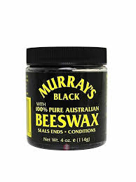 Murrays Pure Australian Beeswax Black 4oz