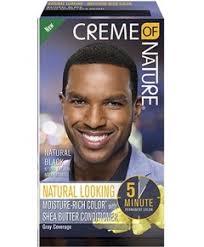 Creme Of Nature Men's Shea Butter Natural Black Hair Colour