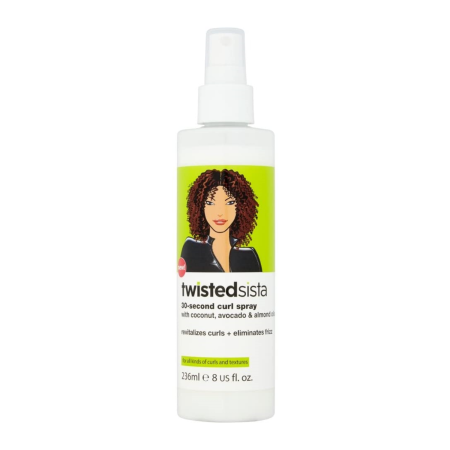 Twisted Sista Coconut, Avocado & Almond Oil Curl Spray