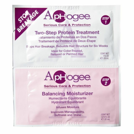 ApHogee Two Step Protein Treatment and Balancing Moisturising Sachet 1oz/0.75