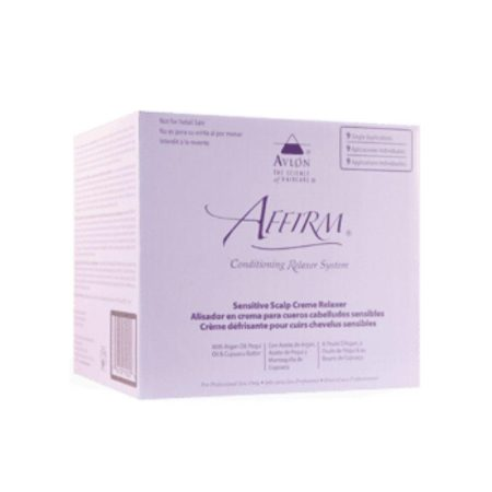 Affirm Sensitive Scalp Conditioning Relaxer system (4 Applications)