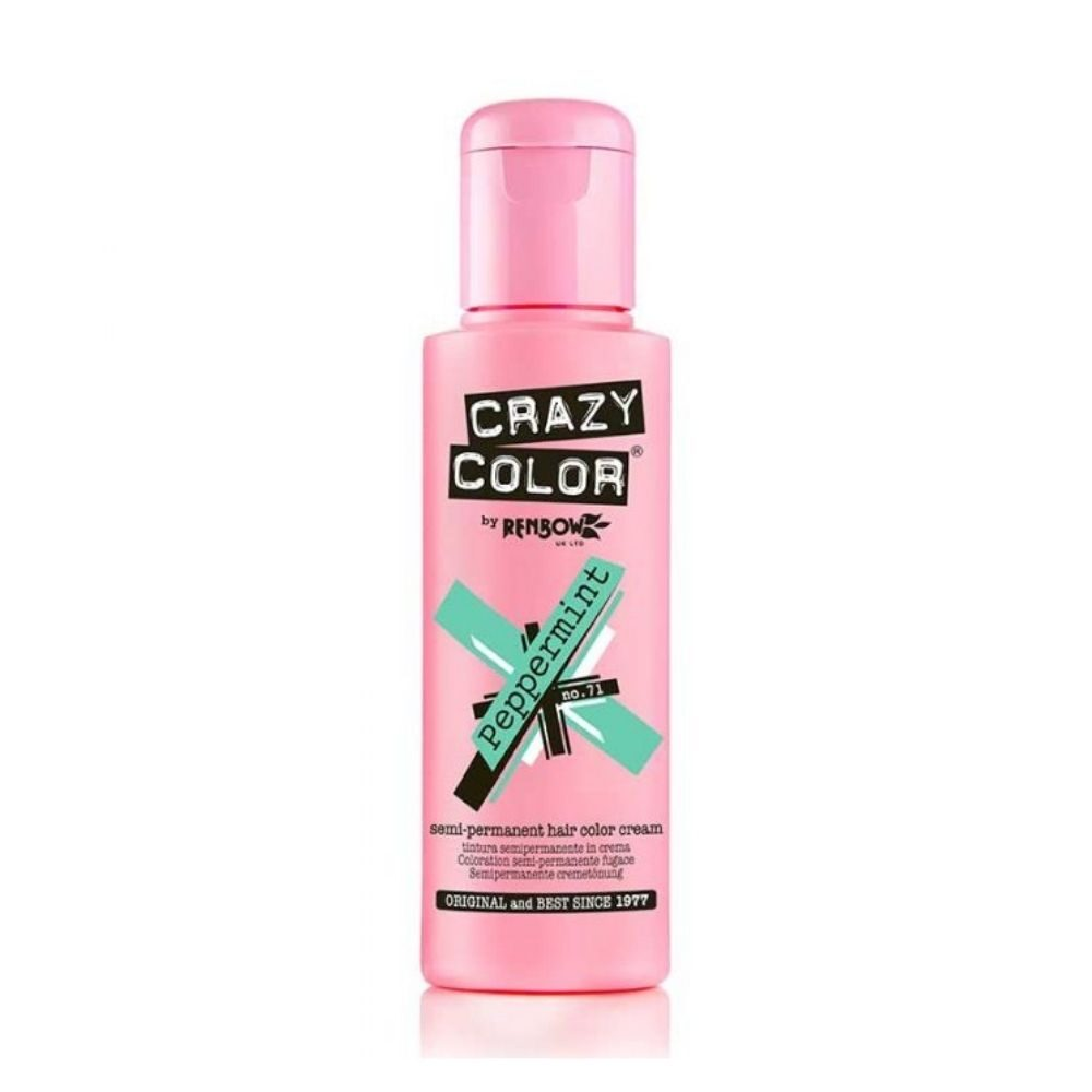Crazy Color Semi Permanent Hair Colour Cream Lavender 100ml