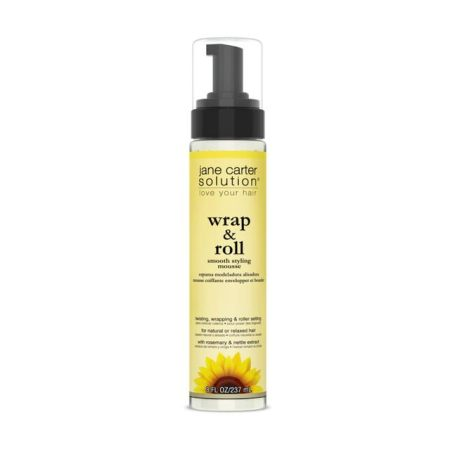 Jane Carter Solution Wrap & Roll Smooth Styling Mousse 8oz